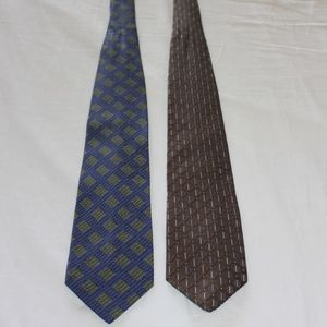 Mens Calvin Klein Silk Ties